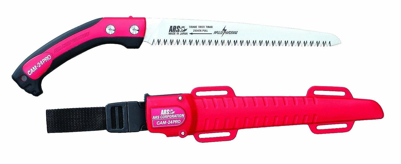 ARS 2ARS-CAM24-PRO - Sega professionale per potatura, con fodero, 240 mm SA-CAM24PRO