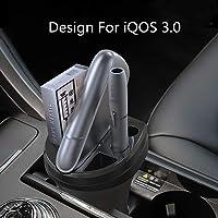 LUXACURY Cargador de Copa para IQOS 3 Soporte IQOS 3.0 Cargador de Fuente de Alimentación para cigarrillos electrónicos…