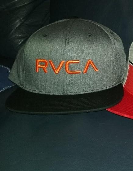 RVCA Men's Twill Snapback Six-Panel Trucker Hat Love the hat!