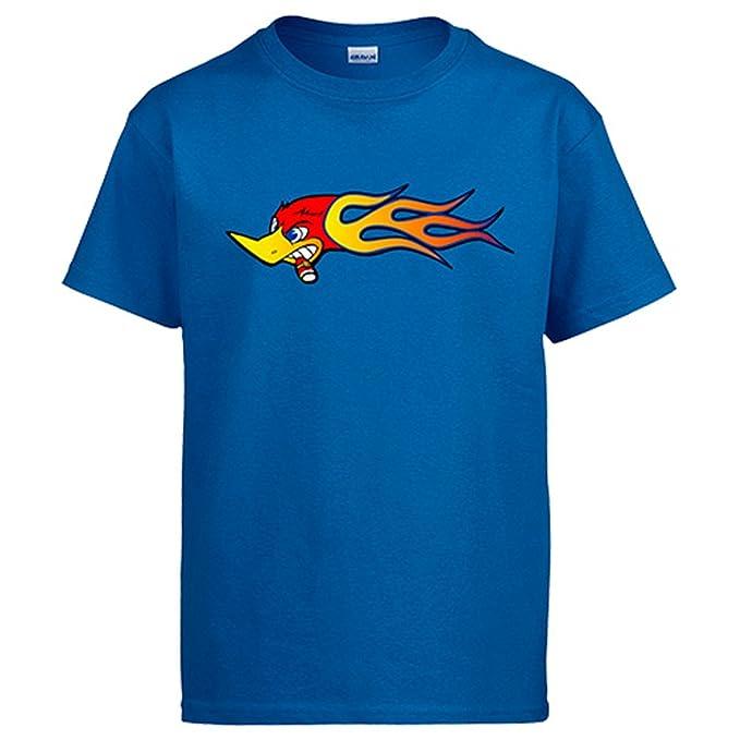Diver Camisetas Camiseta El Pájaro Loco Loquillo: Amazon.es: Ropa y accesorios