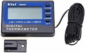 VICI TM803 Fridge Refrigerator Freezer Digital Alarm Thermometer Temperature Meter