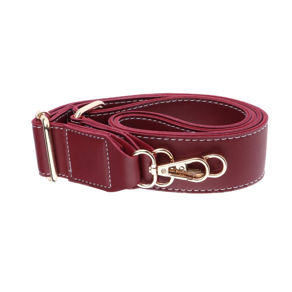 Brown Fenteer 130cm Leather Shoulder Crossbody Bag Handles Strap Replacement DIY