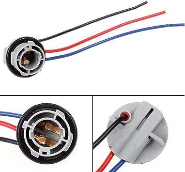 [SCHEMATICS_4CA]  Amazon.com: PartsSquare 1pair 1157 2057 2357 Replacement Plug Sockets  Extended Wiring Harness Tail Brake Light: Automotive   Brake Light Wiring Harness      Amazon.com
