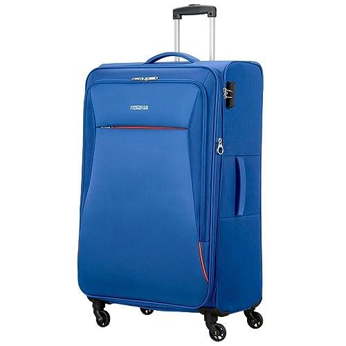 American Tourister 89727-1971 bolsa de equipaje Tranvía Negro, Azul Poliéster - Bolsa de