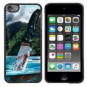 TECHCASE---Cubierta de la caja de protección para la piel dura ** Apple iPod Touch 6 6th Touch6 ** --Muy lejos