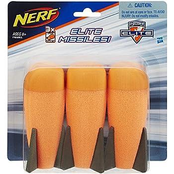 Official Nerf N-Strike Elite Series Mega Missile Refill 3-Pack