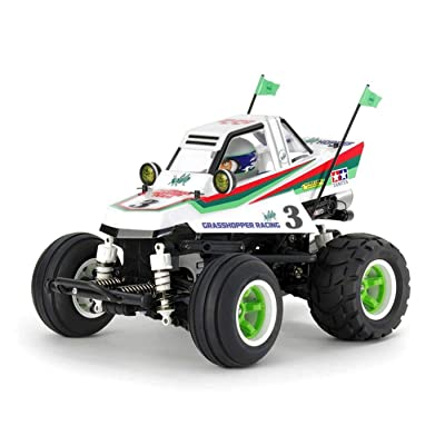 Tamiya 58662 Rc Comical Grasshopper Kit, (WR-02CB): Toys & Games