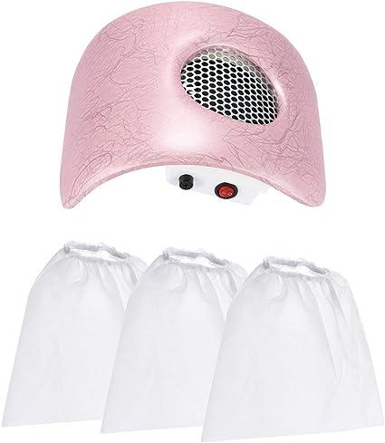Anself Manicura de aspiradora de uñas Aspirador para Polvo de Uñas Máquina de recolección de suciedad de uñas: Amazon.es: Belleza