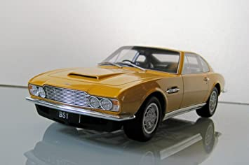 Gt Spirit 1 18 Scale Aston Martin Dbs Yellow Resin Gt079 Persuaders Amazon De Spielzeug