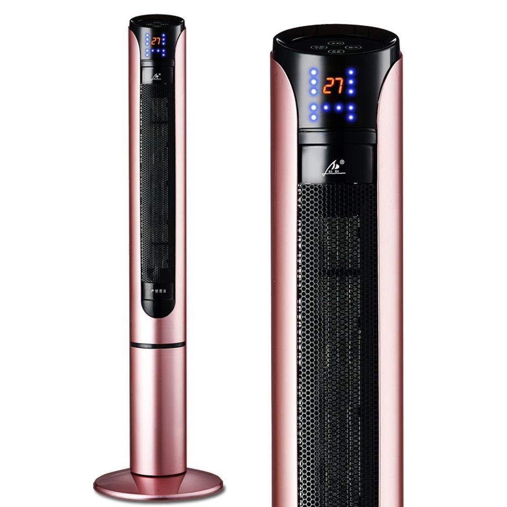 Acquisto IIWOJ Home Vertical Riscaldatore Elettrico Telecomando Velocità Riscaldamento Ad Aria Calda PTC Fever,Gold Prezzi offerte