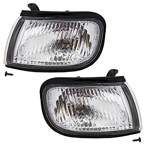 Maxima Park Lamp - Driver and Passenger Park Signal Corner Marker Lights Lamps Replacement for Nissan 26175-0L726 26170-0L726