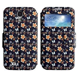 LEOCASE flor linda Funda Carcasa Cuero Tapa Case Para Samsung Galaxy S4 I9500 No.1005057