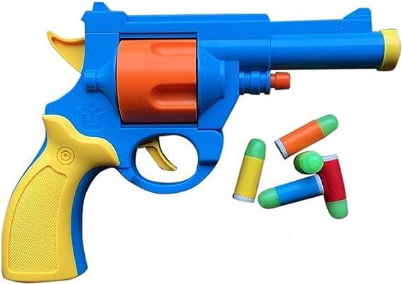 toshi station .45 ACP British Bull Dog Revolver Toy Gun with Soft Bullets