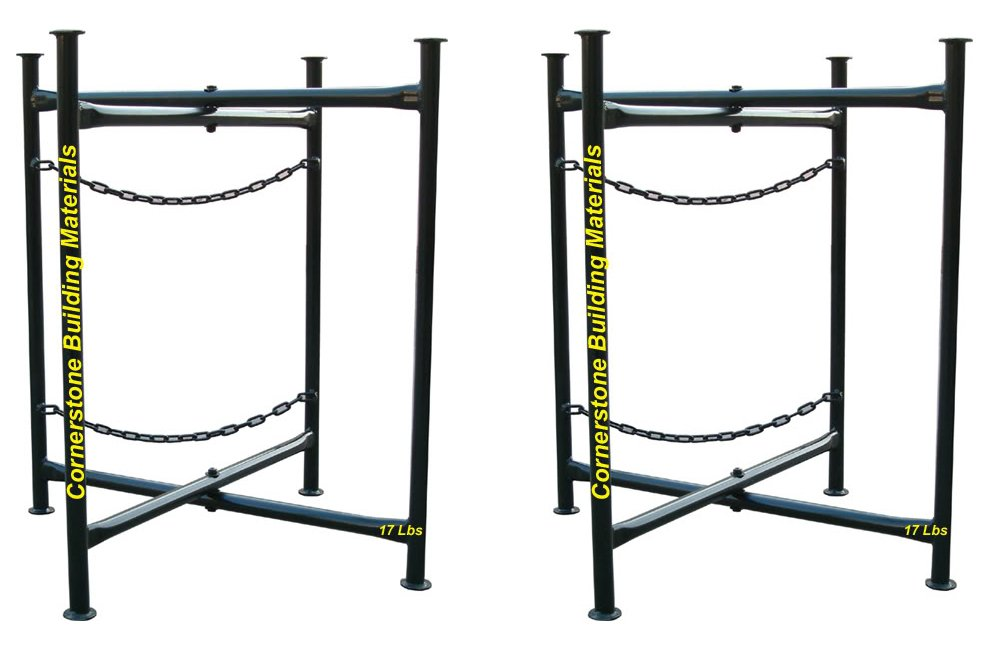 CBM A Pair of TWO 20'' x 30'' Double Chain Mortar Board Stand