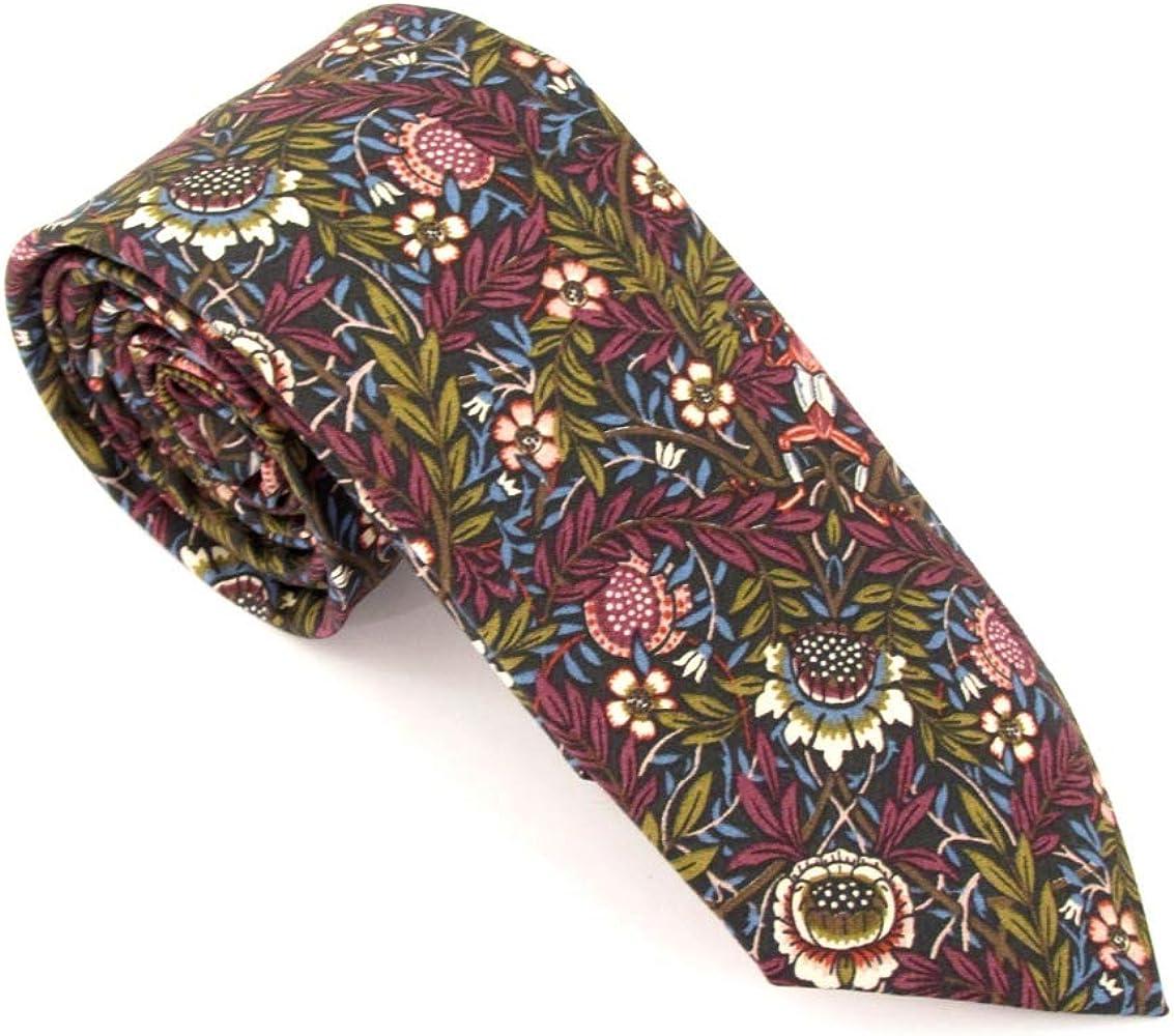 Van Buck Liberty - Corbata de algodón, diseño de melocotón: Amazon ...