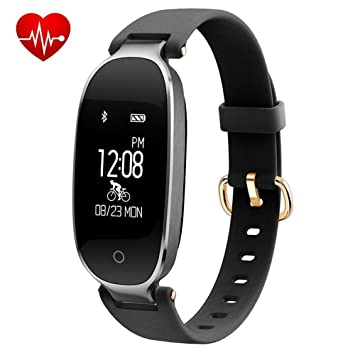 Amazon.com: henxiyi Smart Bracelet Sports Bluetooth Watch ...