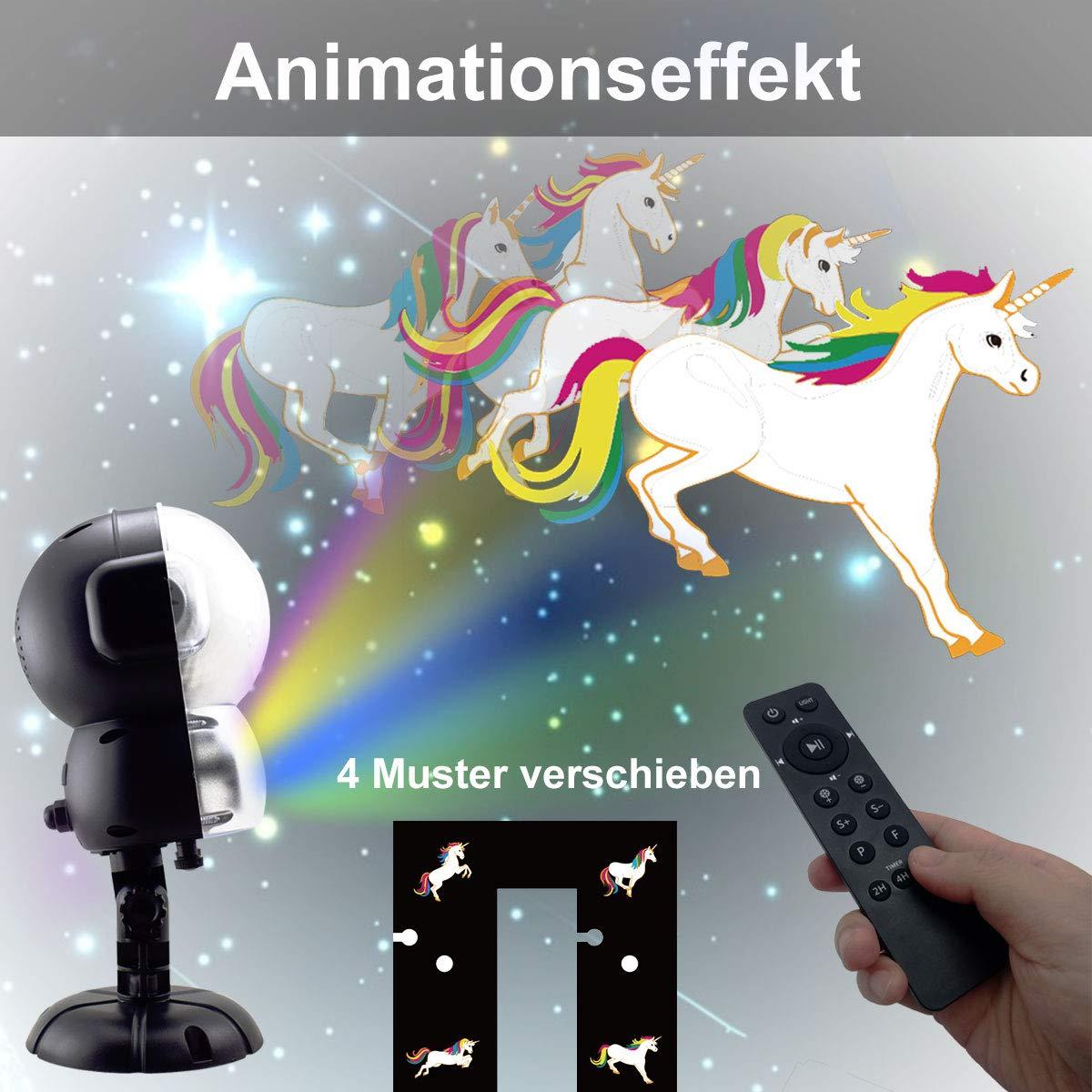 LED Schneefall Projektor Licht Animation Projektionslampe Außen ...