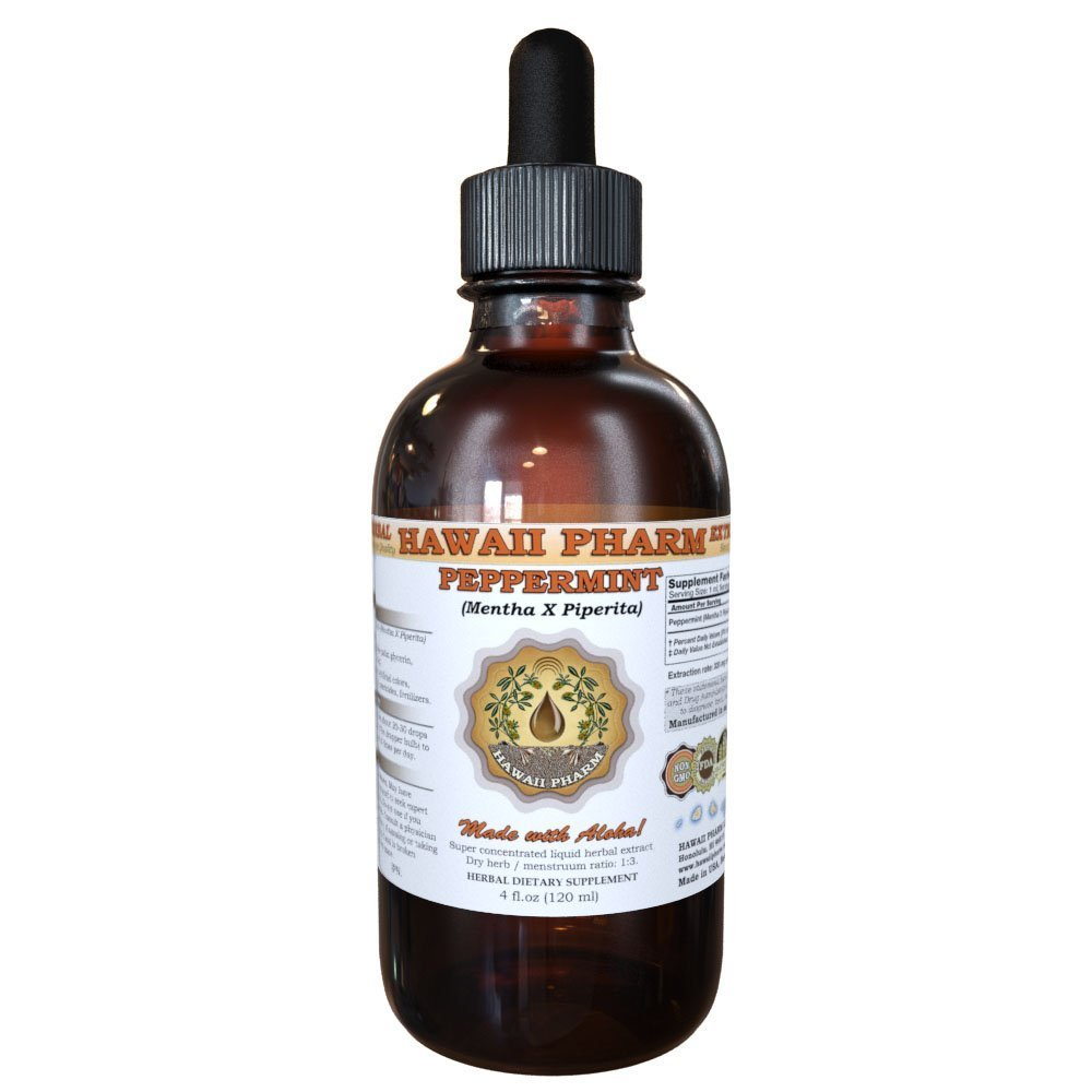 Peppermint Liquid Extract, Organic Peppermint (Mentha X Piperita) Tincture 2 oz