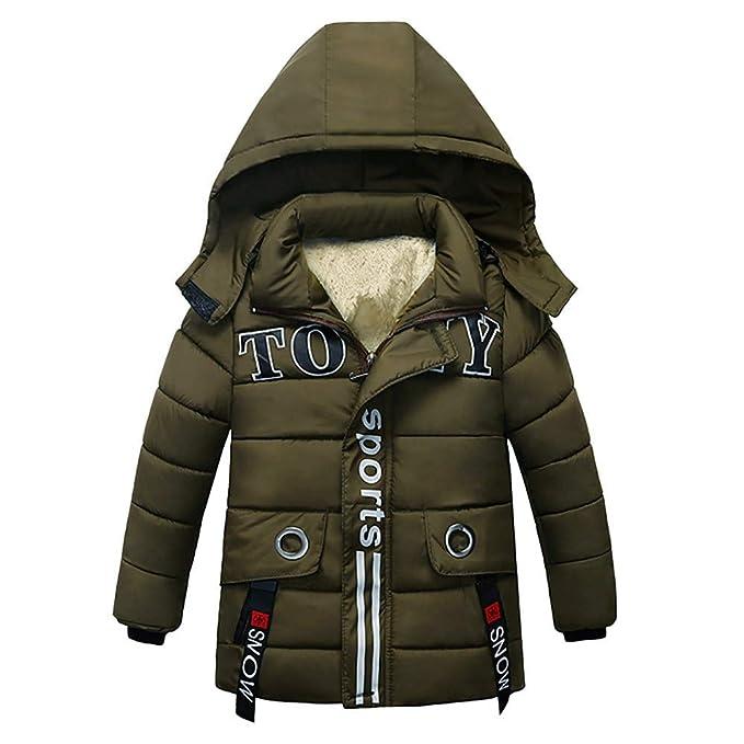 friendGG ❤️❤ Kinder Jungen Mädchen Wintermantel Mantel