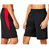 DEVOPS Boys 2-Pack Active Athletic Basketball Shorts with Pockets
