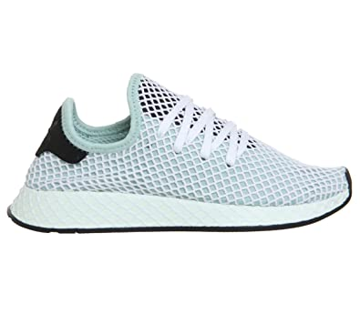 Amazon.com | Adidas Deerupt Runner Womens Sneakers Green | Fashion ...