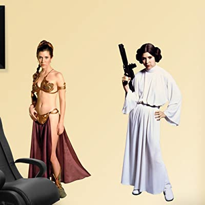 Star Wars Princess Leia Wall Graphic: Home & Kitchen