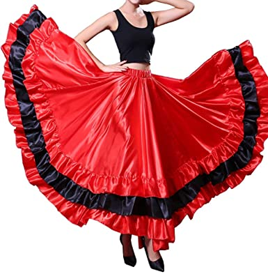 Verano Mujeres Adultas Spanish Bull Flamenco Gypsy Belly Dance ...