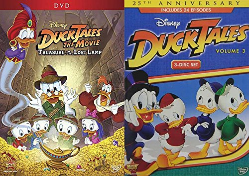 Disneys Duck Tales 2-Pack Set - DuckTales Volume 3 3-Disc Set ...