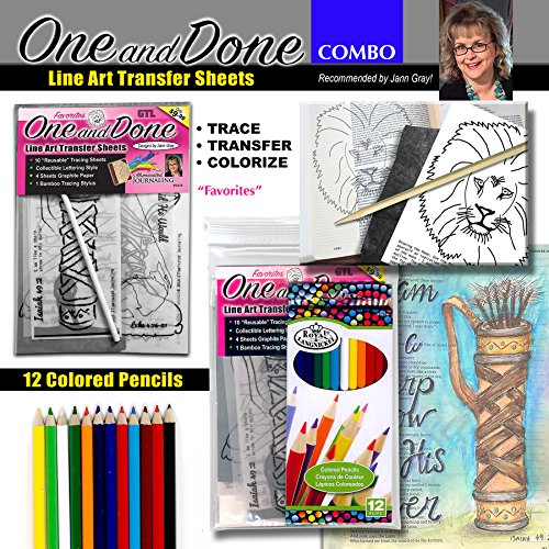 Combo Journaling Favorites Colored Pencil