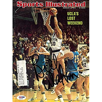 3d92f6e40 Bill Walton Signed Sports Illustrated Magazine UCLA - PSA DNA  Authentication - Autographed NCAA College