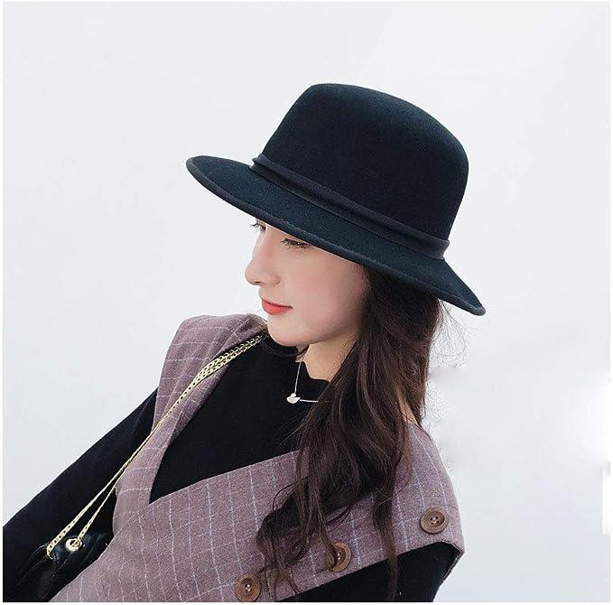 Xingyue Aile Sombrero de copa y gorras de vaquero, Gorros de mujer ...