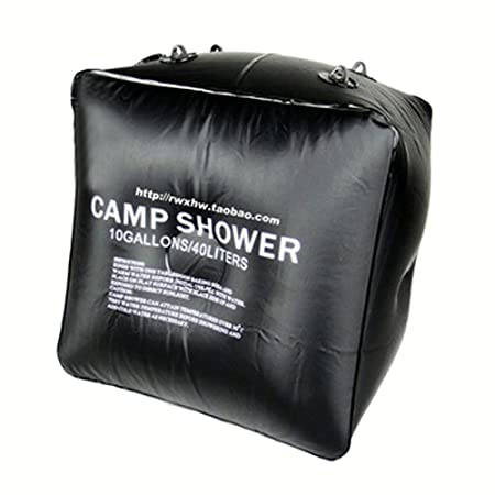 Portable Outdoor Solar Shower Bag For Camping Tent And