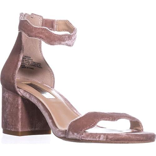 94d29f7d9d3 INC International Concepts Womens Hadwin Scallop Block-Heel Sandals Med  Pink Size 10 M US