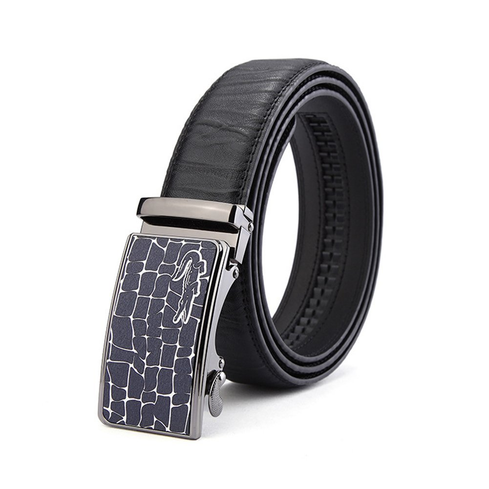 Amazon.com: XUEXUE Mens Belt, Leather Automatic Buckle,Work ...