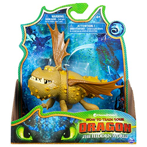 (Dreamworks Dragons, Meatlug Dragon Figure with Moving Parts, for Kids Aged 4 and Up)