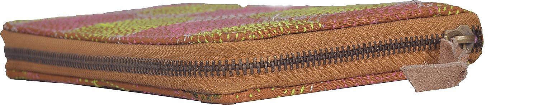 Jaipur Textiles Hub Women's Clutch ( Orange, JTH-238 )