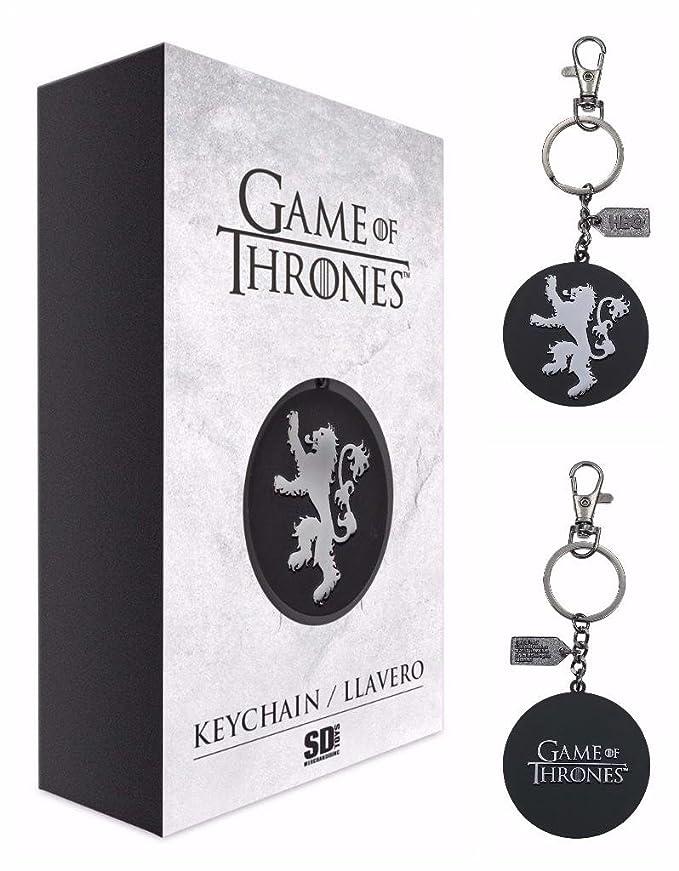 Game Of Thrones Llavero/Clip de Bolso Logotipo de la Casa ...