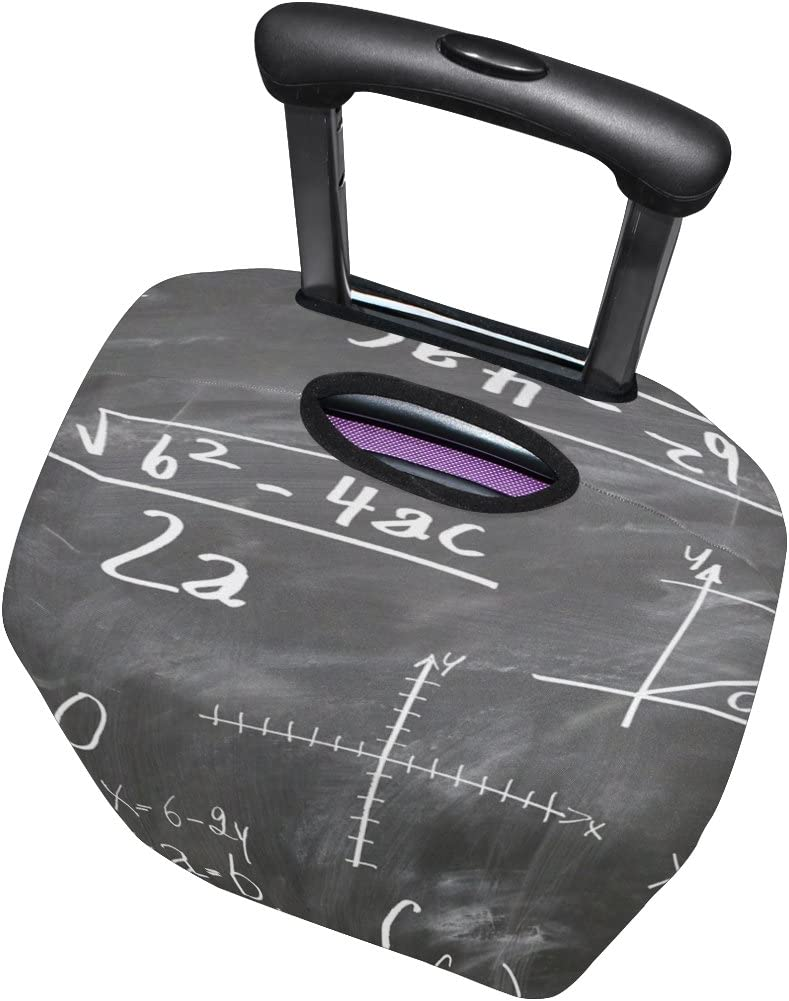 LEISISI Mathematics Formula Luggage Cover Elastic Protector Fits XL 29-32 inch Suitcase