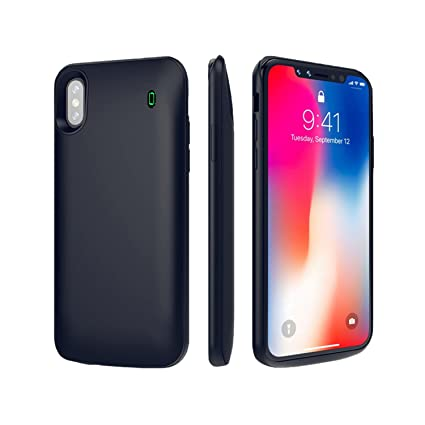 Amazon.com: Funda cargador de batería iPhone de Apple x ...