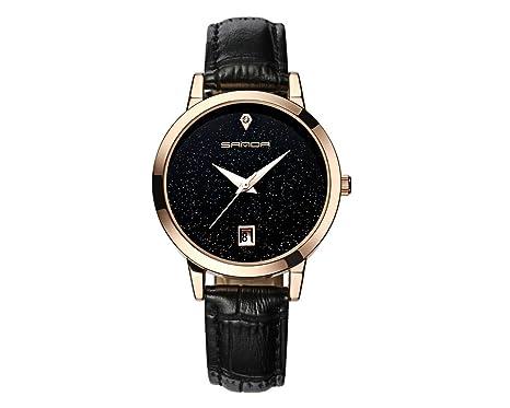 Amazon.com: Reloj De Mujer Fashion Moda Women Casual Quartz Wristwatch Relogio Feminino RE0066: Watches