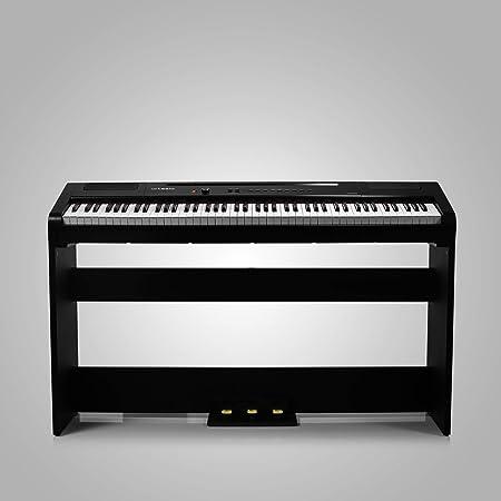 Artesia Harmony 88 - Piano digital (con soporte para muebles a juego y tres pedales), color negro