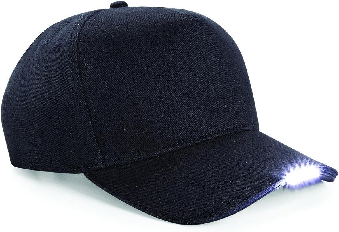 Workwear World Luces LED en la Visera montado luz Gorra de béisbol ...