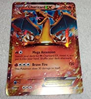 Pokemon JUMBO OVERSIZED Rayquaza EX Foil Holo Promo Card XY66 XY 66 (English)