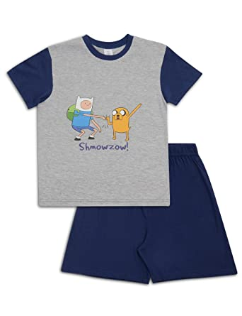 Adventure Time Pyjamas Short PJs Pyjama Set (9-10 Years)  Amazon.co.uk   Clothing b7d4ceddb