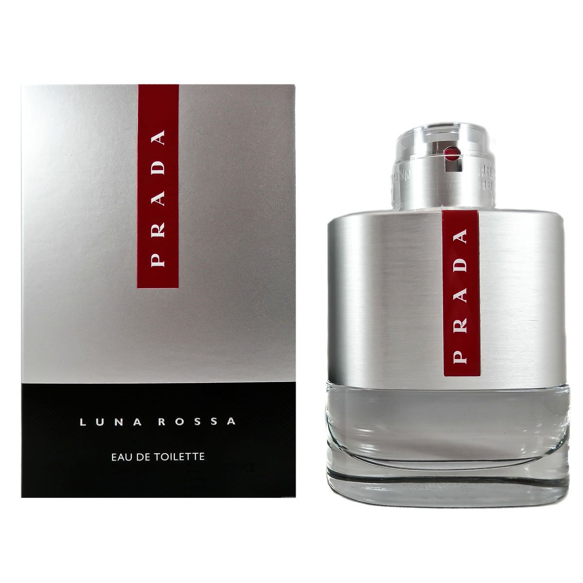 Prada Luna Rossa Eau de Toilette Spray for Men, 3.4 Ounce (Packaging may vary)