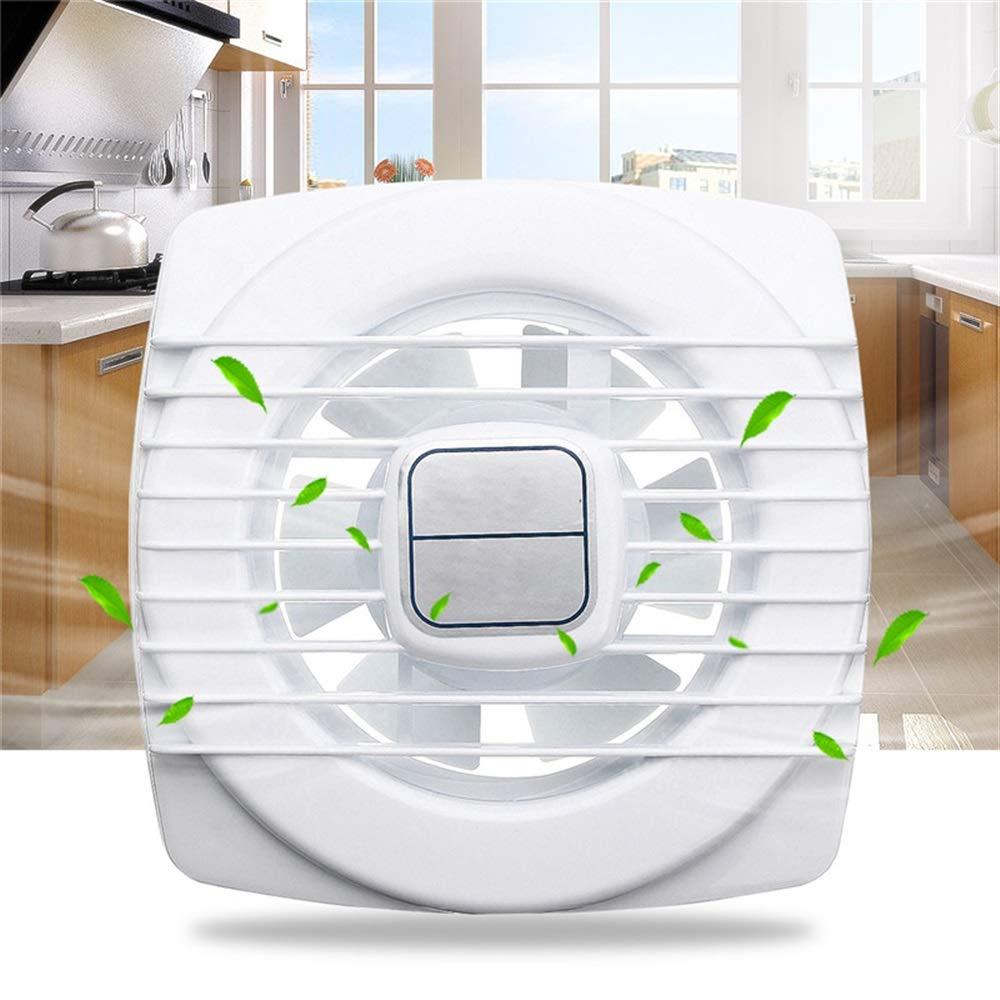 Easyflower Add Much Fun Extractor Fan Pull Rope Mini Fan Extraction Ventilation Wall Kitchen Bathroom Toilet Fan Hole