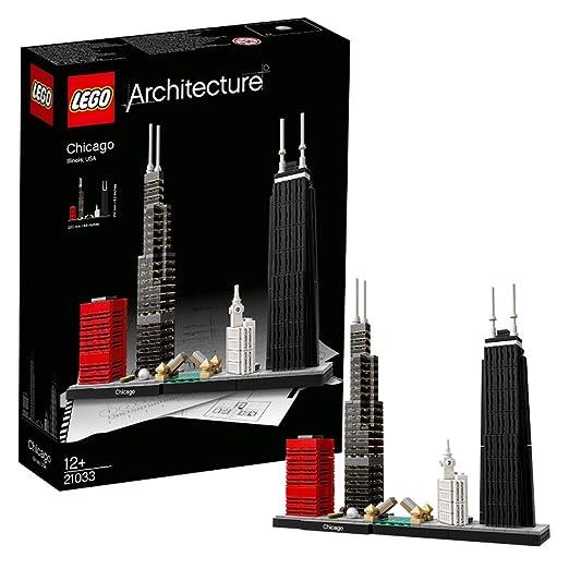 648 opinioni per LEGO Architecture 21033- Set Costruzioni Chicago