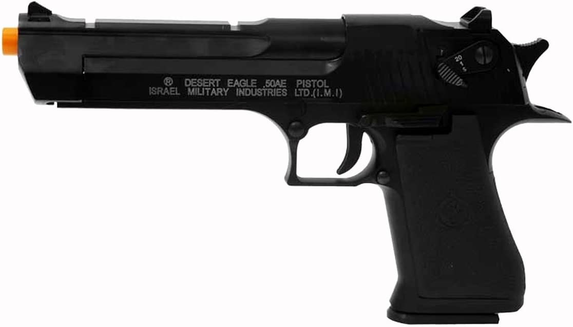 Amazon Com Desert Eagle Full Auto Airsoft Pistol Sports Outdoors