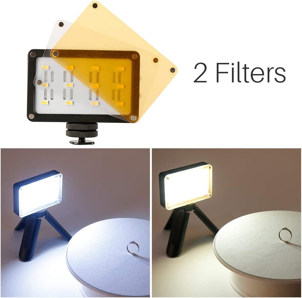 MeterMall for UlanziMini 12 LEDs Video Light Photo Lighting Fill Light