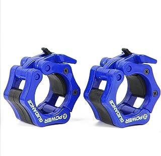 POWER GUIDANCE - Hantelverschlüsse Hantelstangen Verschluss Barbell Halsbänder für 50mm Olympic Bar - Ideal für Cross-Fitness-Training - Lebenslange Garantie